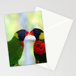 Rainbow Birds Stationery Cards