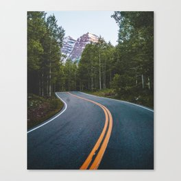 Road to the Bells Canvas Print
