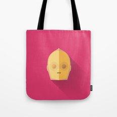 C3PO Minimalist Poster Tote Bag