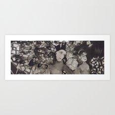 LA FETE TRISTE −1 Art Print