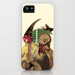 don't expect it to tango; it has a broken back  iPhone Case