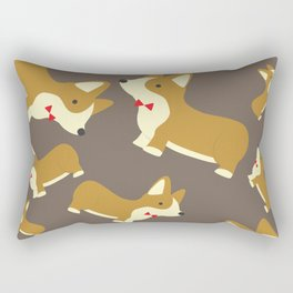 Corgi Love Rectangular Pillow