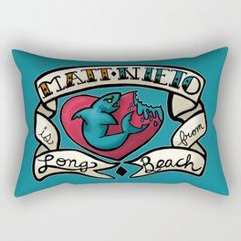 The Legend of Long Beach Rectangular Pillow