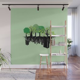 Eco Skyline Wall Mural