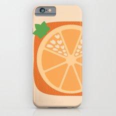 Orange Heart iPhone 6s Slim Case