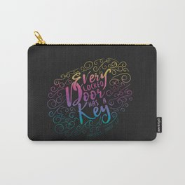 Every locked door has a key - Warcross Marie Lu Carry-All Pouch