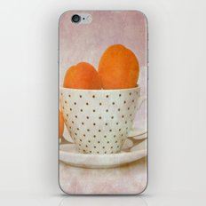 a cup full of apricots iPhone & iPod Skin