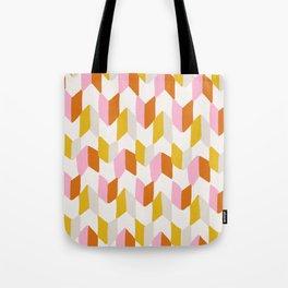 delilah, chevron pattern Tote Bag