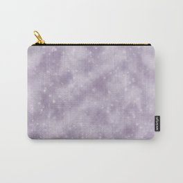 Purple Starry Fog Carry-All Pouch