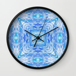Ocean Kaleidos Wall Clock