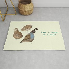 Quail of a Time Rug