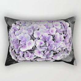 Flower | Flowers | BNW Purple Hydrangea Rectangular Pillow