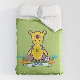 Monster Brazil 2014 Comforters