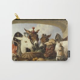 Edwin Landseer- A Group Of Animals, Geneva Carry-All Pouch