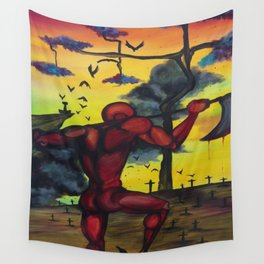 The Red Giant Wall Tapestry