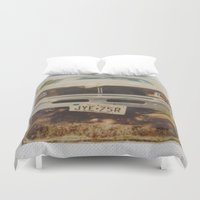 ford Duvet Covers featuring Ford by Michael Shepherd