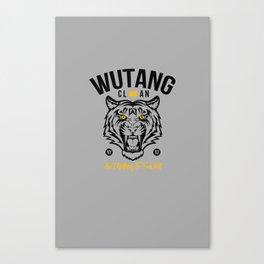 WuTangClan Tiger Canvas Print