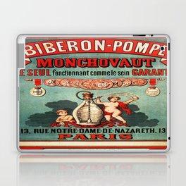 Vintage poster - Biberon-Pompe Laptop & iPad Skin
