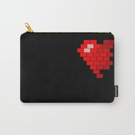 Pixel Heart Failure Carry-All Pouch