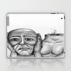 My head is pounding, I can't stop the pounding Laptop & iPad Skin