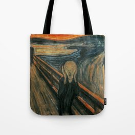 The Scream - Edvard Munch Tote Bag