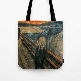 The Scream - Edvard Munch Tote Bag