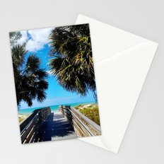Pathway to Beach Heaven Stationery Cards