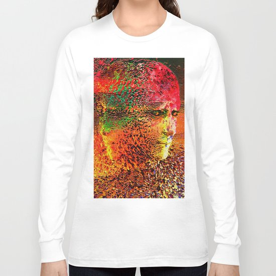""""""" The beauty is the magnificence of the divine face. """" Long Sleeve T-shirt"""