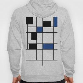Indigo , abstract , geometric Hoody