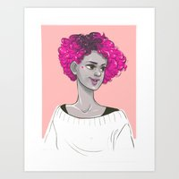 Pinkeauty Art Print
