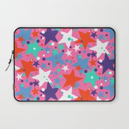 Fun ditsy print with constellations and twinkle lights Laptop Sleeve