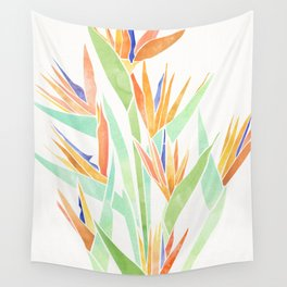 Birds of Paradise ~ tropical bouquet Wall Tapestry