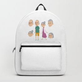 Happy National Grandparents Day Backpack