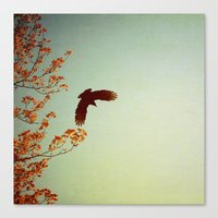 wings Canvas Prints featuring Wings by Alicia Bock