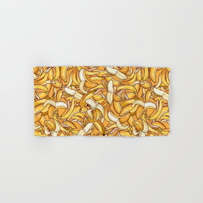 Yellow banana dream. Hand & Bath Towel