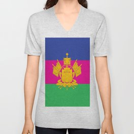 flag of Krasnodar Unisex V-Neck