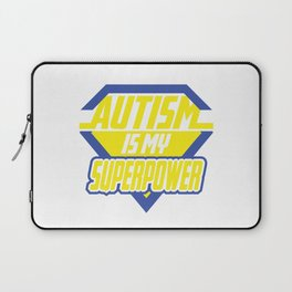 Autism is my Superpower Laptop Sleeve