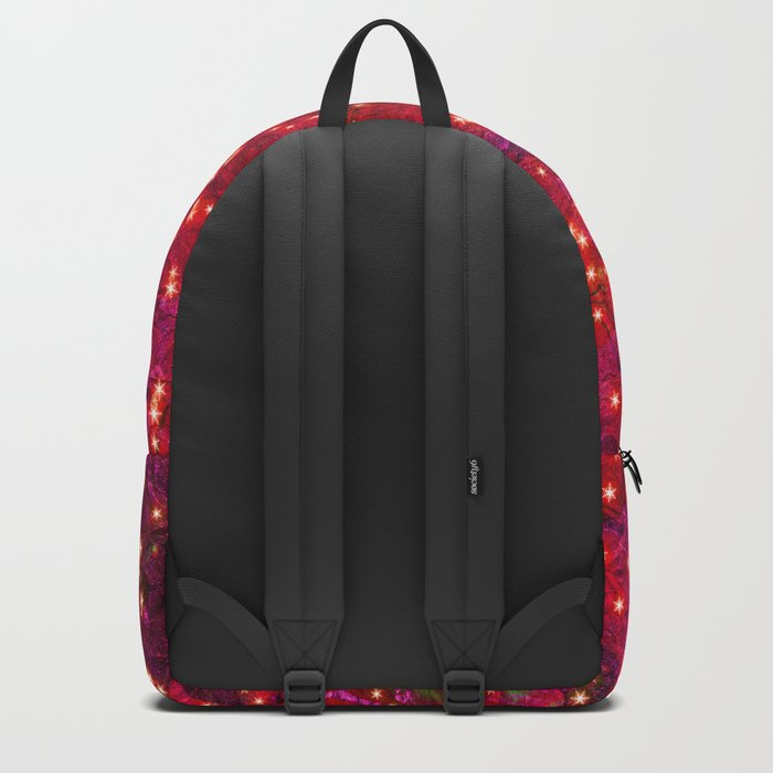 abstract stars Backpack