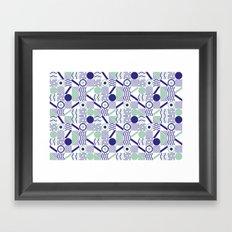Sea sailor Framed Art Print