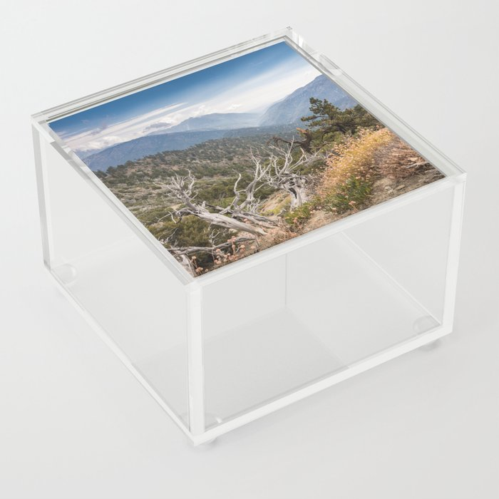 Inspiration Point along Pacific Crest Trail Acrylic Box