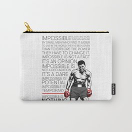 Ali 'The Champ' Boxing Carry-All Pouch