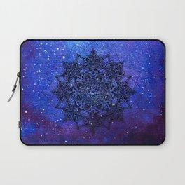 Anatomandala II x Watercolor Nebula Laptop Sleeve