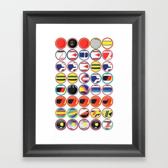 The Chain Framed Art Print