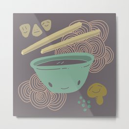 Noodle Doodle 2 Metal Print