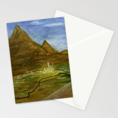 Fictional Landscape III Stationery Cards