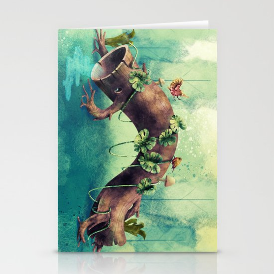 Forest Creature Stationery Cards