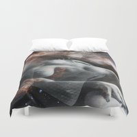 milky way Duvet Covers featuring Milky Way by Liaison Érotique