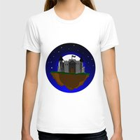 castle in the sky T-shirts featuring Castle in the Sky by AjDreamCraft