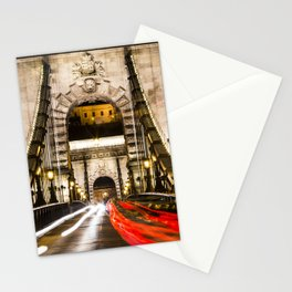 Budapest Chain Bridge Stationery Cards