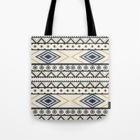 aztec Tote Bags featuring AZTEC by Oksana Smith